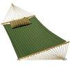 Algoma Net Company Quilted Sunbrella Hammock with Deluxe Sunbrella Pillow