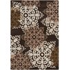 Chandra Rugs INT Brown/Beige Geometric Area Rug