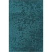 Chandra Rugs Angelo Textured Striped Blue Area Rug