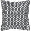 Chandra Rugs Geometric Contemporary Throw Pillow