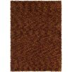 Chandra Rugs Blossom Textured Shag Red/Orange Area Rug
