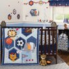 Bedtime Originals Baby League 3 Piece Crib Bedding Set