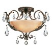 Fredrick Ramond Barcelona 4 Light Semi Flush Mount