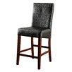 "Hokku Designs Carroll 25"" Bar Stool with Cushion (Set of 2)"
