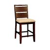 "Hokku Designs Shrader 22.75"" Bar Stool with Cushion (Set of 2)"
