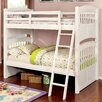 Hokku Designs Dakota Twin Over Twin Standard Bunk Bed
