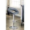 Hokku Designs Theory Adjustable Height Swivel Bar Stool with Cushion (Set of 2)