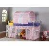 Hokku Designs Fantazia Twin Loft Bed with Angled Ladder