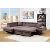 Hokku Designs Zalor Contemporary Sleeper Sofa