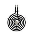 Range Kleen Cooktop Plug-in Large Burner Element