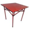 String Light Company Portable Dining Table in Red