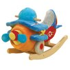 Rockabye Bi Plane Airplane Rocker