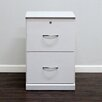 Gothic Furniture Flat Iron 2-Drawer Vertical File
