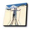Lamp-In-A-Box Ski Kiss Painting Print