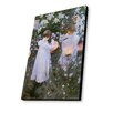 Lamp-In-A-Box Carnation, Lily, Rose 1885 by John Singer Sargent Painting Print