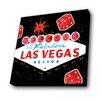 Lamp-In-A-Box Las Vegas Vintage Black shade Graphic Art