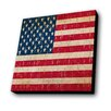 Lamp-In-A-Box Vintage US Flag Graphic Art