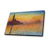 Lamp-In-A-Box Dusk in Venice 1912 by Claude Monet Painting Print
