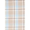 Bunny Williams for Dash and Albert Jack Blue Plaiditude Indoor/Outdoor Rug