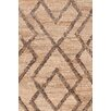 Bunny Williams for Dash and Albert Marco Oak Cut-pile Brown Area Rug