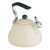 Kitchen Craft Le'Xpress Whistling Kettle in Seashell Cream