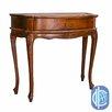 International Caravan Windsor Hand-Carved One Drawer Hall Table