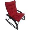 International Caravan Wembley Rocking Chair with Cushion
