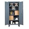 Durham Manufacturing Recessed Door Style Lockable Storage Cabinet