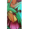 Graffitee Studios Graffiti Abstract 1 Graphic Art on Wrapped Canvas