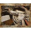 Graffitee Studios Man Cave Saddle up Graphic Art on Wrapped Canvas