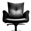 Compel Office Furniture Mahari Leather Executive Chair with Arms
