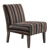 Kingstown Home Novella Stripe Print Slipper Chair