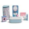 Le Toy Van Rosebud Dollhouse Bathroom Set
