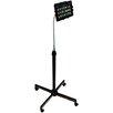 CTA Digital Height-Adjustable Gooseneck Stand with Casters for iPad Air/iPad and Retina Display/iPad 3rd Gen/iPad 2/Tablet