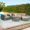The-Hom Caribe 4 Piece Seating Group with Cushions