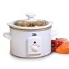 Elite by Maxi-Matic Cuisine 1.5 Qt. Mini Slow Cooker