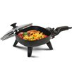 Elite by Maxi-Matic Elite Cuisine Electric Skillet with Lid