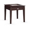 Caravel Galleon End Table with Power Station