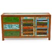 EcoChic Lifestyles Sea Saw Reclaimed Wood Cabinet