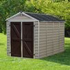 Palram SkyLight™ 6 Ft. W x 10 Ft. D Polycarbonate Storage Shed