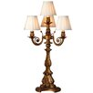 """River of Goods Downton Abbey 32.5"""" H Four-Arm Table Lamp with Empire Shade"""