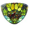 River of Goods Hampshire Stained Glass LED Wall Sconce