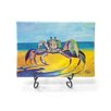 """Kim Rody Creations Ocean """"Crabe En Pointe"""" Giclee Print on Gallery Wrapped Canvas"""