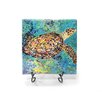 """Kim Rody Creations Ocean """"Kris' Turtle"""" Giclee Print on Gallery Wrapped Canvas"""