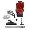 GV 8-qt. Commercial Pro Cordless Battery Powered HEPA Backpack Back Pack Vacuum