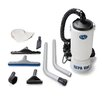 "GV New 6 Quart HEPA BackPack Vacuum with Proffesional 1.5"" Tool Kit Commercial Restaurant Industrial"