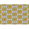 Milliken College Repeating NCAA Notre Dame Novelty Rug