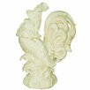 Kaldun & Bogle Tuscan Rooster Antique Rooster Crowing Statue