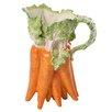 Kaldun & Bogle French Garden Lapin Carrot Pitcher