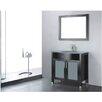 """Adornus Adora 30"""" Single Bathroom Vanity Set with Mirror"""